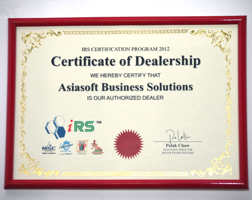 Welcome To Asiasoft Business Solutions